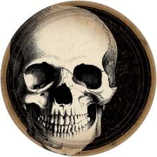 Amscan Halloween Boneyard 9 Paper Plates