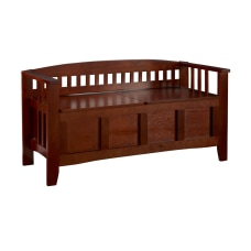 Linon Home Decor Products Storage Bench