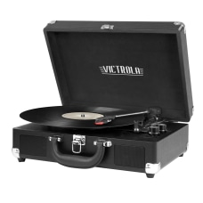 Victrola Portable Suitcase Turntable 139 H