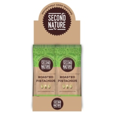 SECOND NATURE Roasted Pistachios Nuts 15
