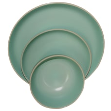 Gibson Home Rockaway 12 Piece Dinnerware