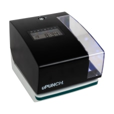 uPunch Digital Time Clock And Date