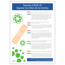 ComplyRight COVID 19 Vaccine Poster Myths