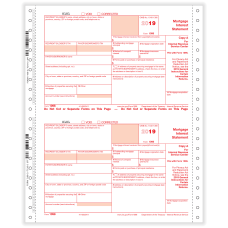 ComplyRight 1098 Tax Forms Continuous Copies