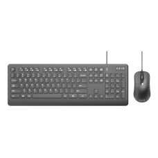 Azio KM535 Antimicrobial USB Mouse And