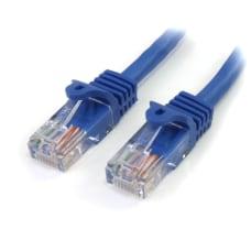 StarTechcom 10 ft Blue Snagless Cat5e
