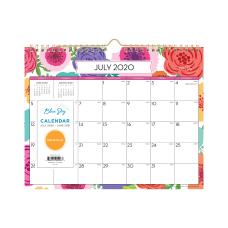 Blue Sky AY21 Monthly Wall Calendar