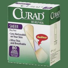 Medline Sheer Adhesive Bandages 34 x