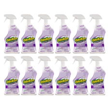 12-Pack OdoBan Odor Eliminator Disinfectant Spray, Lavender Scent, 32 Oz