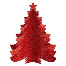 Amscan Christmas 3 D Glitter Tree