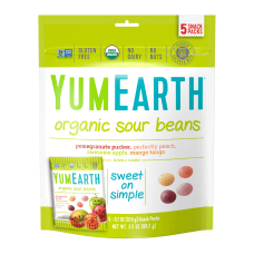 Yummy Earth Organic Sour Beans 35