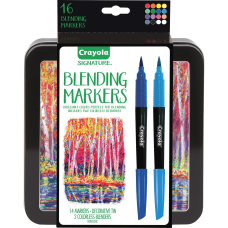 Crayola Signature Blending Markers 16 Set