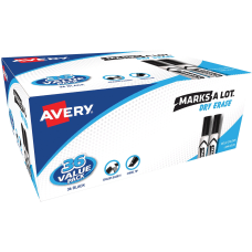 Avery Desk Style Dry Erase Markers