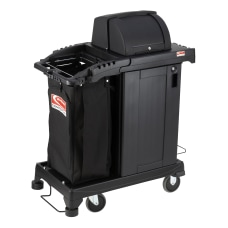 Suncast Commercial Resin Cleaning Cart Lockable