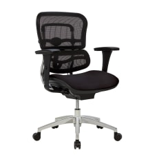 WorkPro 12000 Series Ergonomic MeshFabric Mid