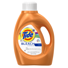 Tide Liquid Detergent With Bleach Alternative