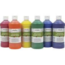 Handy Art Washable Finger Paint 6