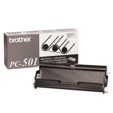 Brother PC 501 Black Thermal Cartridge
