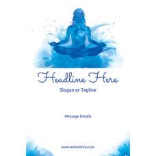 Custom A Frame Sign Meditation