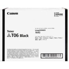 Canon T06 Original Toner Cartridge Black