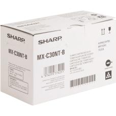 Sharp MX C30NTB Black original toner