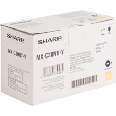 Sharp Toner Cartridge Yellow Laser Standard