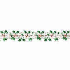 Amscan Christmas Holiday Tinsel Garland With