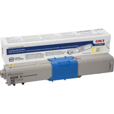 OKI 3K Original Toner Cartridge Yellow
