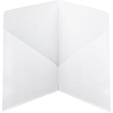 Smead Classic 2 Pocket Folders White