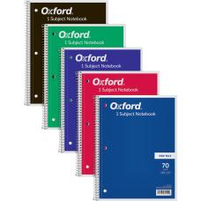 TOPS 1 Subject Spiral Notebook Wide