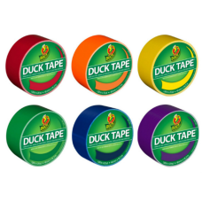 Duck Brand Color Duct Tape Rolls