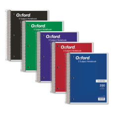 TOPS 5 subject College ruled Notebooks