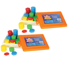 Learning Resources Hexagram Weights Assorted Colors
