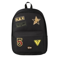 Playground Badges Backpacks Assorted Colors Pack