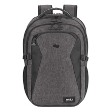 Solo Unbound Laptop Backpack Gray