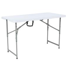 Flash Furniture Height Adjustable Bi Fold