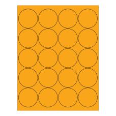 Office Depot Brand Circle InkjetLaser Labels