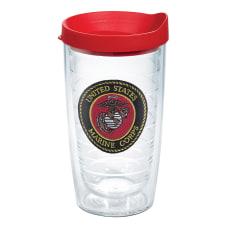 Tervis Marine Corps Tumbler With Lid
