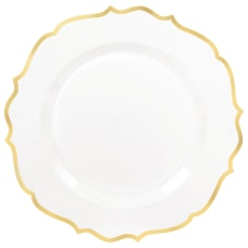 Amscan Ornate Premium Plastic Plates With