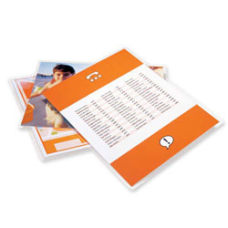 GBC UltraClear Thermal Laminating Pouches Letter