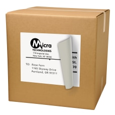 Avery TrueBlock Laser Shipping Labels AVE91201
