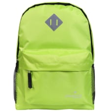 Playground Hometime Backpacks Neon Yellow Pack