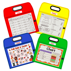 C Line Portable Dry Erase Pockets