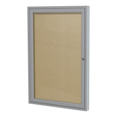 Ghent 1 Door Enclosed Vinyl Bulletin