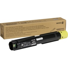 Xerox Original Toner Cartridge Yellow Laser