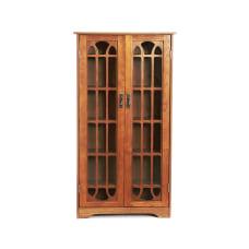 Southern Enterprises Window Pane Media Cabinet