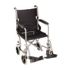 DMI Lightweight Folding Transport Chair 37