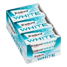 Trident White Wintergreen Sugar Free Gum