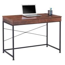 Realspace 44 W Valdi Desk Brown