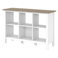 Bush Furniture Mayfield 6 Cube Bookcase